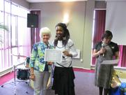 Awards for mentees of Leading with Passion and Grace